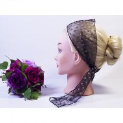 Узкий шарфик-повязка